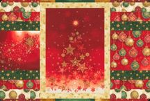 "Radiant Holiday by Robert Kaufman / ""Radiant Holiday"" by Lara Skinner for Robert Kaufman Fabrics"