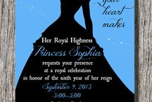 Cinderella theme bday party