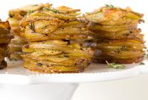 Parmesan potato stacks / Side dishes / by Linda Troutman