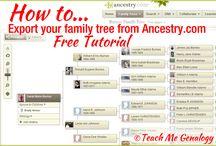 Genealogy Resources & Tips