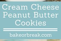 cream cheese cookies peanut butter