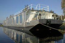 Schiff oder Hausboot
