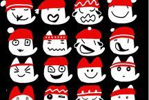 """Mariscal Signos & Pictogramas & Emojis / """"Comunicarse sin palabras, claro"""". Alfabetos que son iconos, como los Felicis. Ideogramas, pictogramas para señalar o identificar gráficamente, con una economía de recursos gráficos increíbles, pero todos con algo en común, transmiten alegría, felicidad. #signos #simbolos #pictogramas #emojis #design"""
