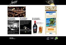 SITE INTERNET / Réalisation de site internet, architecture, navigation, développement, rédactionnel et graphisme, production des contenus photos et vidéos