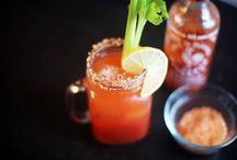 Bloody Mary bar / by Melissa O'Dell