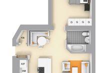 mieszkanie  rzuty