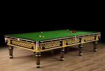 A Spectacular Gilded  Antique Billiard Table / This beautiful table is available to purchase