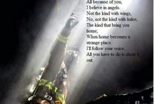 First Responders / Police and Fire dedications / by Lauren Ashleigh