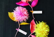 Paper flower / Papirove kvetiny