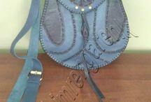 Deri Çapraz Omuz Çantası - Cross Leather Shoulder Bag