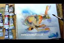 Tutorials Art: watercolour & how to paint
