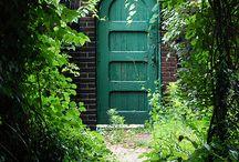 Ogród drzwi | INSPIRACJE | Garden door