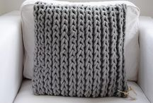 knit cushion covers