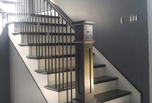 Mission Panel Newel Post by Scotia Stairs Limited