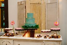 Dessert Tables at PSR