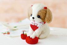Hermosos Diseños de Muñequitos con forma de animalitos en miniatura