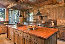 Rustykalne kuchnie