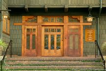 Architecture. Gamble House / The Gamble House in Pasadena, California, is an outstanding example of American Arts and Crafts style architecture. It was designed by Charles and Henry Greene in 1908 for David and Mary Gamble / by Ⓒarole Ⓦright