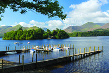 Lake District / The Lake District, spectacular region of the UK. Known for its  rugged landscape, glacial lakes and its famous historic literary associations.