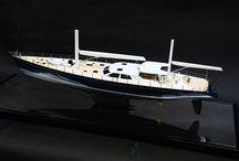 Superyacht models