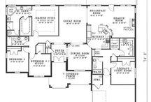 Floor plans  / by Lynne Jaynes Tilley