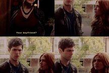 Clary y Alec♥
