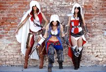 Cosplay ideas!  / by Chrissy St Martin