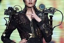 steampunk / Steampunk refers to a sub-genre of science fiction and sometimes fantasy—also in recent years a fashion and lifestyle movement—that incorporates technology and aesthetic designs inspired by 19th-century industrial steam-powered machinery.