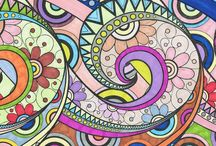 Colouring in and unwind