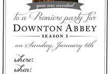 Downton Abbey Graduation Party