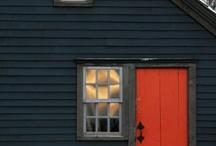 빨간 문 / Red door