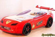 Küçük Arabalı Yatak Modelleri