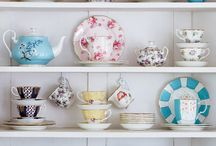 Tea cup display
