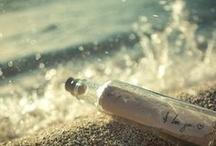 message in a bottle / by Carmen