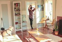 Inšpirácie obývačka