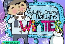 ✿ WINTER ~ Getting grubby in nature ✿ / GREEN GRUBS GARDEN CLUB ☼ Fresh air, bare feet + grubby hands = active learning