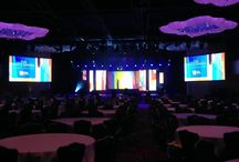 2014 Kaitz Dinner @ Marriott Marquis NY / Set design and produced by O'Keefe Communications.  EVENTEQ delivered the lighting, rigging and video and LED systems for this event.  Our catalyst media server drove content to all the LED walls and projection backdrop.