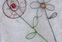 Garden Wire Art DIY