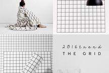 Grid TREND. ITALIANBARK / Grid interior trend + design: focus on grid pattern trend for 2016 interiors and design on ITALIANBARK - interior design blog   #grid #gridtrend #minimal #memphis #blackwhite