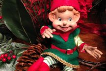 Elf on the Shelf / Elves on the Shelves, for arrangements, plants and gift sales.