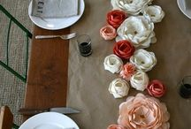 paper flowers / by Kayce Hughes