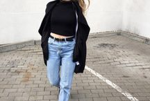 Mom jeans 90's style / #momjeans #denim #90s #sporty #streetstyle #streetfashion #fashion #styleblog #fashionblogger