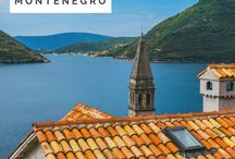 Travel Europe: Montenegro / Inspiration for your upcoming trip to Montenegro.