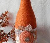 dekorované flaše