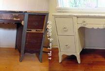 Refurbishing old furniture