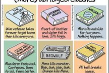 Bookish Humor / Jokes of all kinds for bookish and writerly folk.