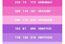 색 RGB HEX