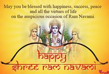 Ram Navami / The festival of Ram Navami is celebrated as the birthday of the Hindu God Rama, who is believed to be one of the incarnations of Lord Vishnu.