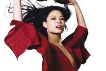 陈美  -  Vanessa Mae / 英国华裔天才小提琴演奏家及2014年冬奥运选手。