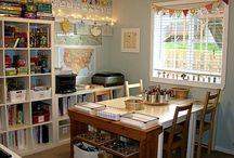 homeschool room / by Bonnie Cline